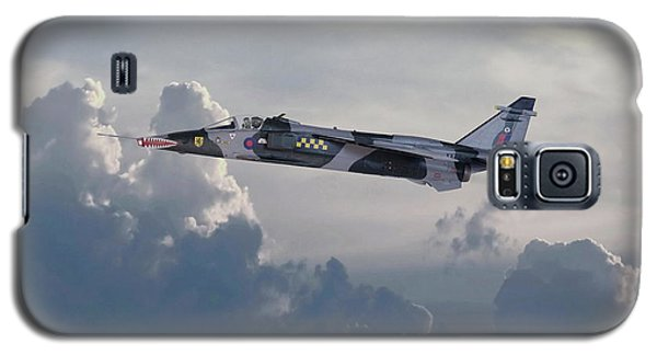 Galaxy S5 Case featuring the photograph Raf Jaguar Gr1 by Pat Speirs