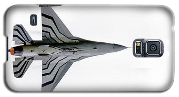 Raf Scampton 2017 - F-16 Fighting Falcon On White Galaxy S5 Case