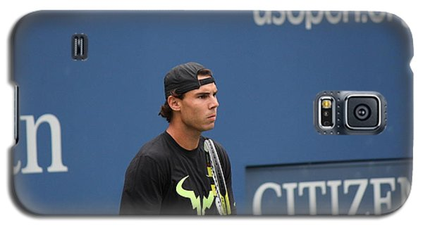 Galaxy S5 Case featuring the photograph Rafael Nadal by David Grant