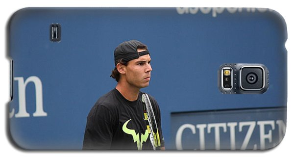 Rafael Nadal Galaxy S5 Case by David Grant