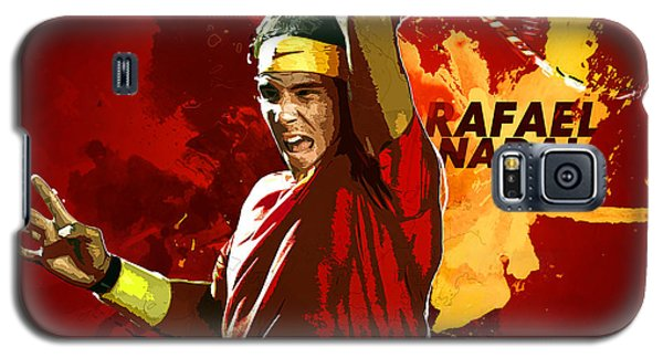 Serena Williams Galaxy S5 Case - Rafael Nadal by Semih Yurdabak