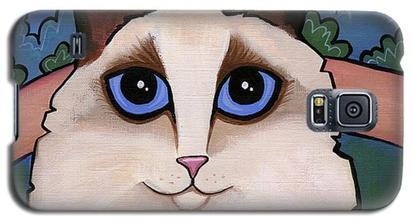 Ragdoll Cat Galaxy S5 Case
