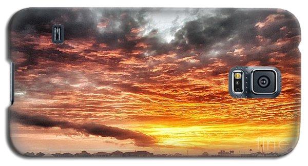 Raging Sunset Galaxy S5 Case