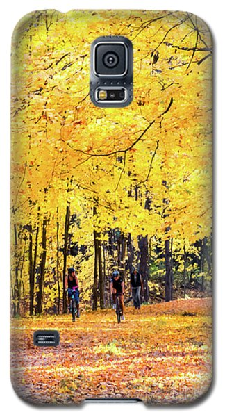 Autumn Glory On The Rail Trail Galaxy S5 Case