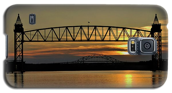 Railroad Bridge Over The Canal Galaxy S5 Case