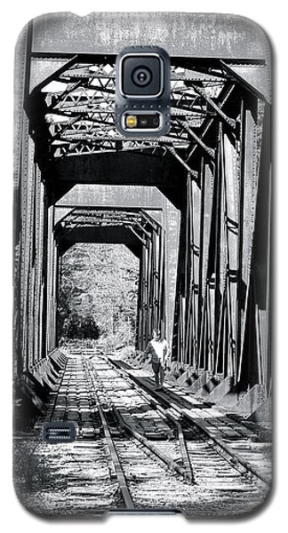 Railroad Bridge Galaxy S5 Case by Robin Regan