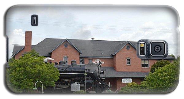 Railroad Depot Galaxy S5 Case