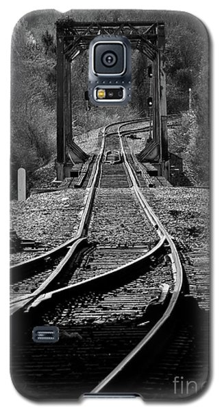 Galaxy S5 Case featuring the photograph Rails by Douglas Stucky
