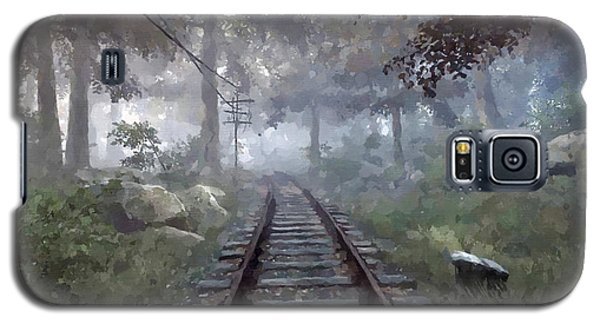 Rails To A Forgotten Place Galaxy S5 Case by Kai Saarto