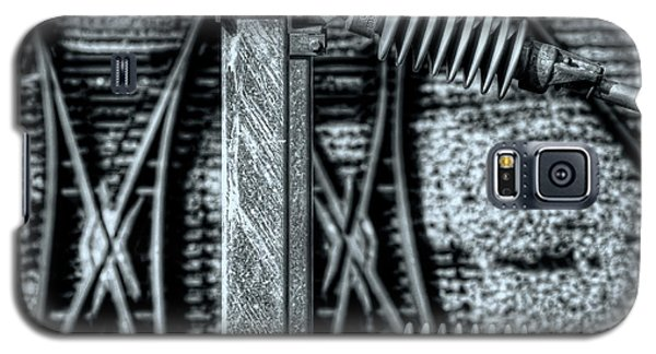 Galaxy S5 Case featuring the photograph Railway Detail by Wayne Sherriff