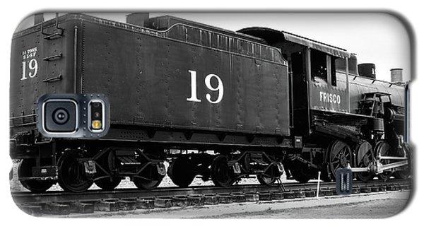Railway Engine In Frisco Galaxy S5 Case