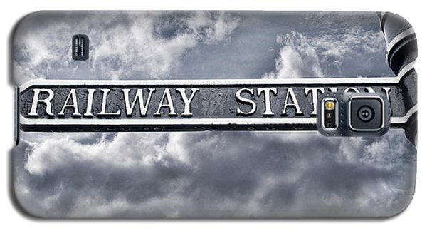 Railway Station Galaxy S5 Case