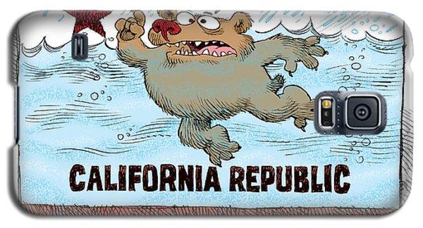 Rain And Drought In California Galaxy S5 Case