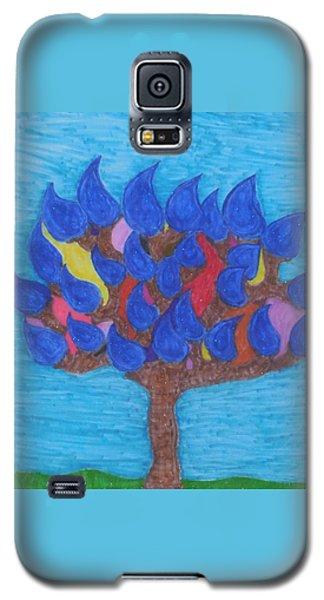 Rain Beauty Tree Galaxy S5 Case