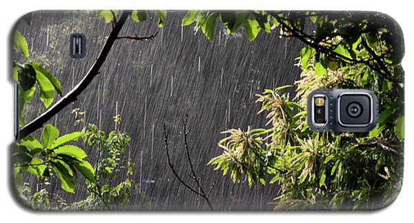 Galaxy S5 Case featuring the photograph Rain by Bruno Spagnolo