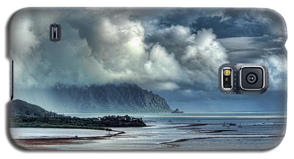 Rain Clearing Kaneohe Bay Galaxy S5 Case