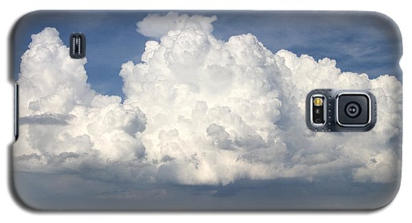 Galaxy S5 Case featuring the photograph Rain Clouds Over Lake Apopka by Carl Purcell