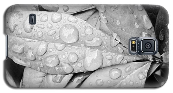 Galaxy S5 Case featuring the photograph Rain Drops by Robin Coaker