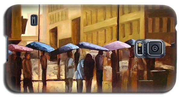 Rain In Manhattan Number Seventeen Galaxy S5 Case by Tate Hamilton