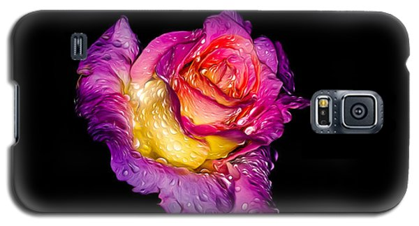Rain-melted Rose Galaxy S5 Case