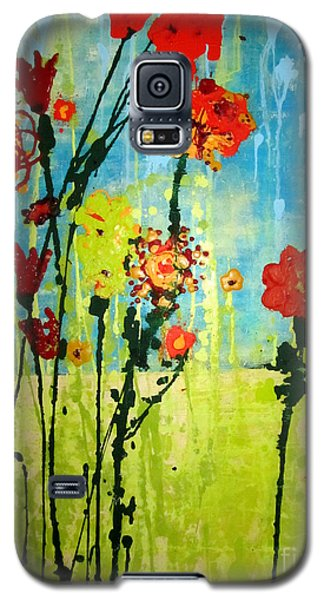 Galaxy S5 Case featuring the painting Rain Or Shine by Ashley Price