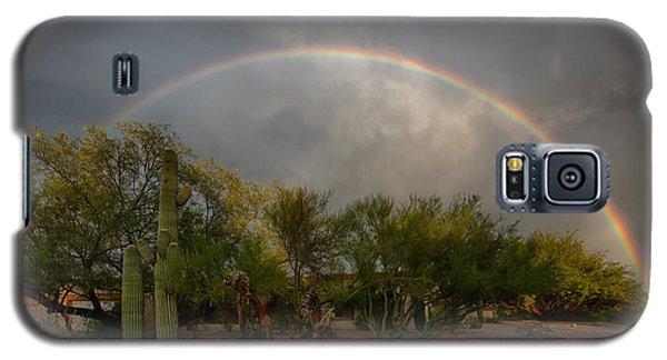 Galaxy S5 Case featuring the photograph Rain Then Rainbows by Dan McManus
