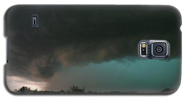 Rain-wrapped Tornado Galaxy S5 Case