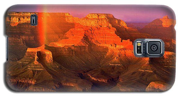 Rainbow At The Grand Canyon Galaxy S5 Case