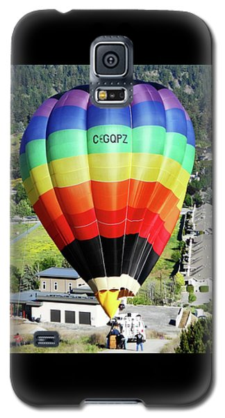Rainbow Balloon 5 Galaxy S5 Case