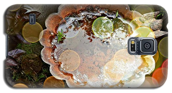 Rainbow Birdbath Galaxy S5 Case