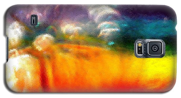 Galaxy S5 Case featuring the photograph Rainbow Bliss #052833_ii by Barbara Tristan