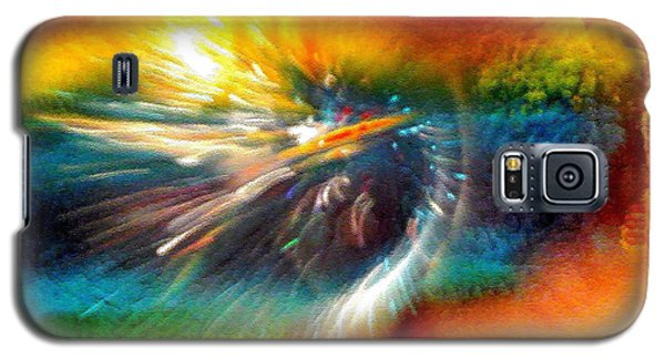 Galaxy S5 Case featuring the photograph Rainbow Bliss #053329 by Barbara Tristan