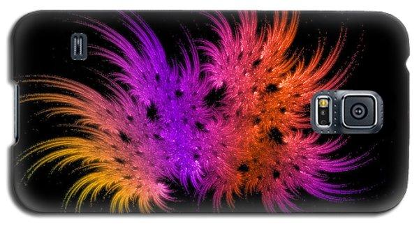 Rainbow Bouquet Galaxy S5 Case by Geraldine DeBoer