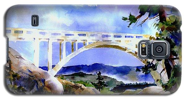 Rainbow Bridge Above Donnerlk#2 Galaxy S5 Case