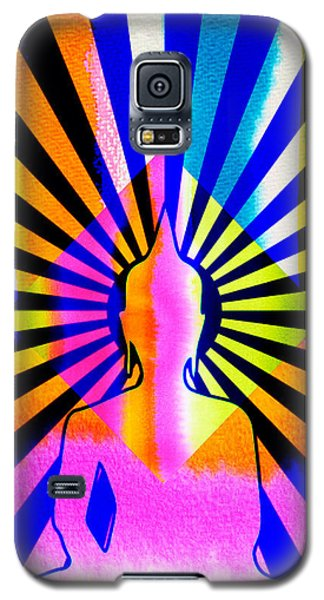 Rainbow Buddha Galaxy S5 Case