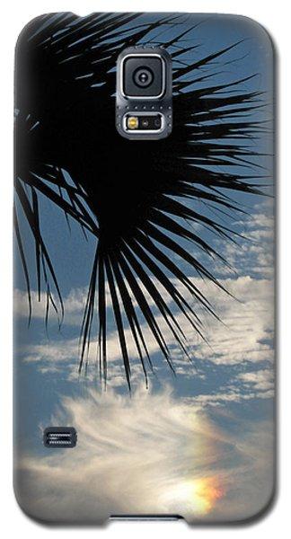 Rainbow Cloud Galaxy S5 Case by Peg Urban