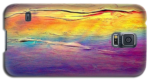 Rainbow Clouds Full Spectrum -dedicated                     Galaxy S5 Case