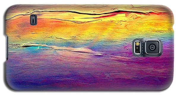 Rainbow Clouds Full Spectrum Galaxy S5 Case