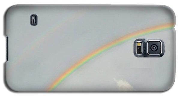 Rainbow Clouds Galaxy S5 Case