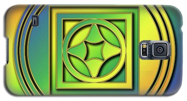 Galaxy S5 Case featuring the digital art Rainbow Design 4 by Chuck Staley