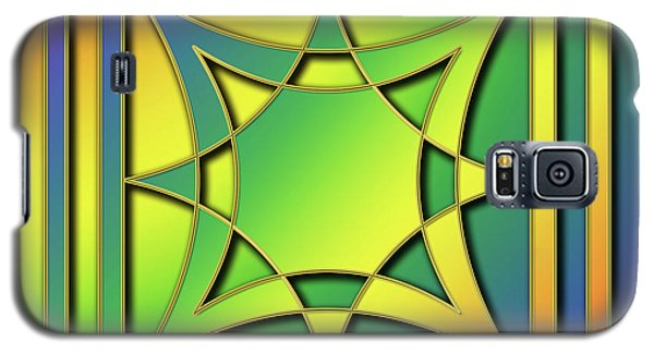 Galaxy S5 Case featuring the digital art Rainbow Design 6 by Chuck Staley
