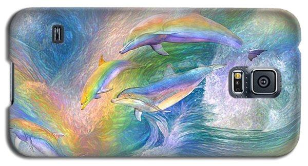 Rainbow Dolphins Galaxy S5 Case