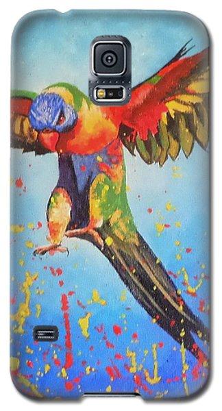 Rainbow Explosion Galaxy S5 Case