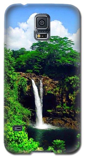 Rainbow Falls Hilo Hawaii Galaxy S5 Case