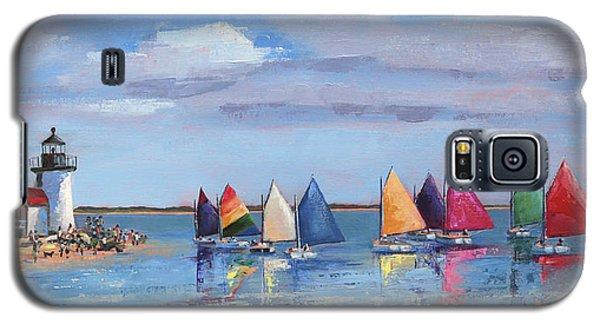 Rainbow Fleet Parade At Brant Point Galaxy S5 Case