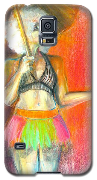 Galaxy S5 Case featuring the drawing Rainbow by Gabrielle Wilson-Sealy