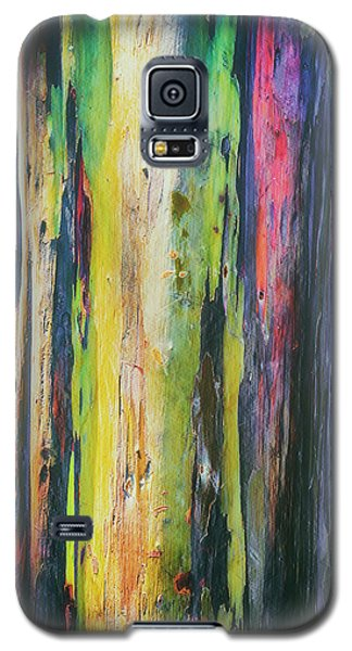 Galaxy S5 Case featuring the photograph Rainbow Grove by Ryan Manuel