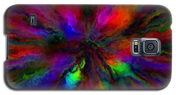 Rainbow Grunge Abstract Galaxy S5 Case