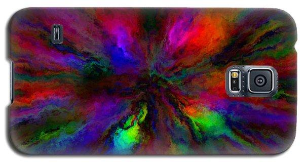 Rainbow Grunge Abstract Galaxy S5 Case
