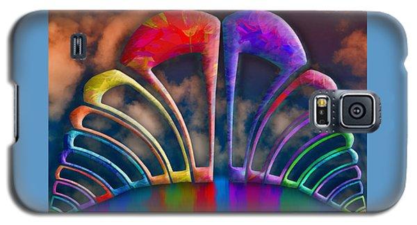 Rainbow Hill Galaxy S5 Case by Paul Wear